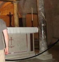 Престол св. Климента у підземній церкві св. Климента, Рим